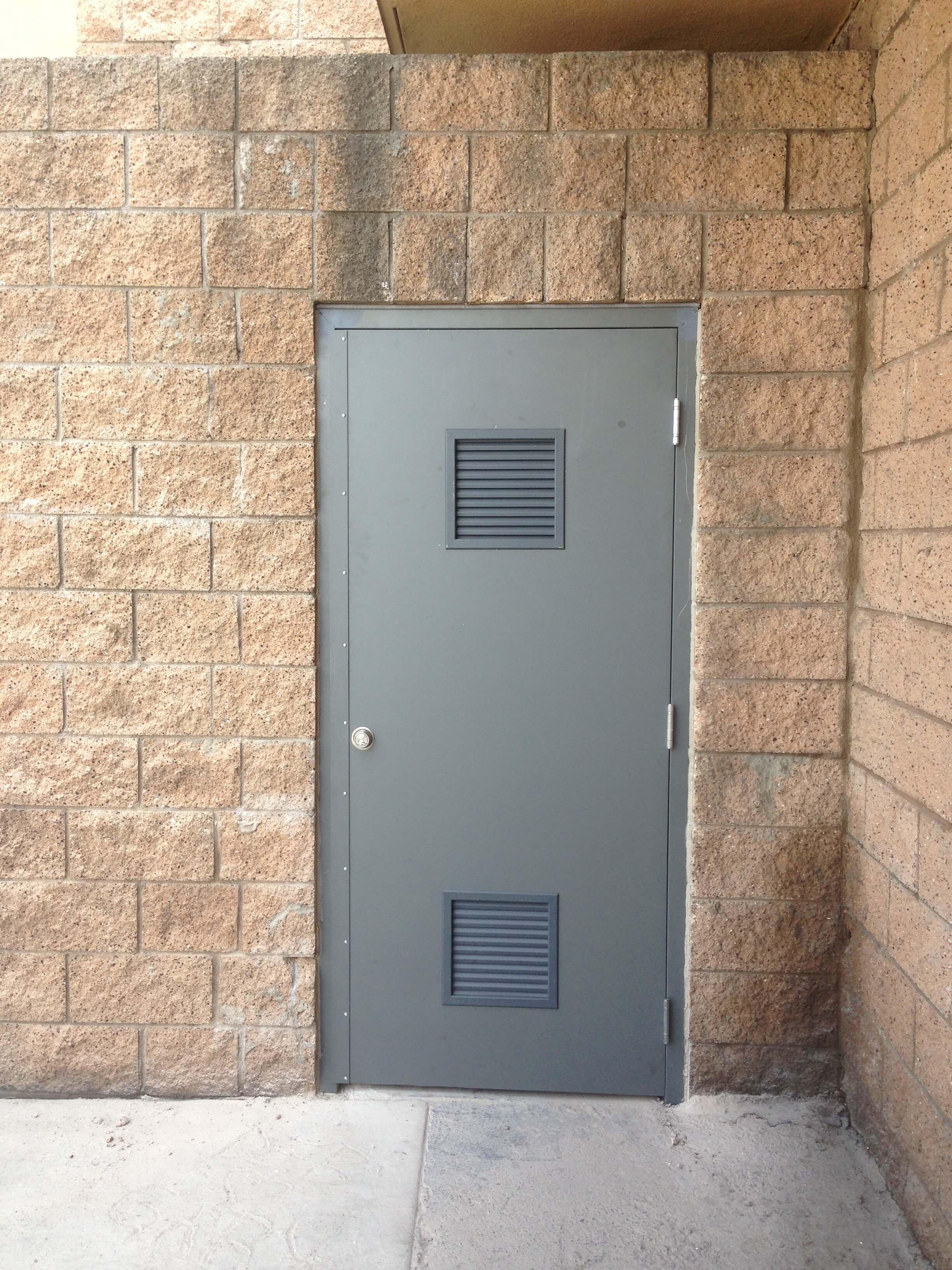 Hollow Metal Door : Services aloha doors inc