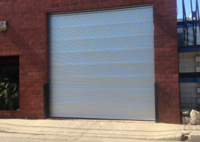 Roll Up Sheet Door
